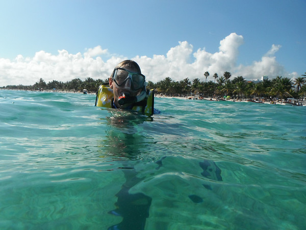 Akumal Snorkeling Dec 2013